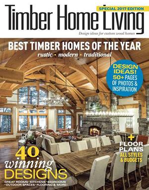 timber home living magazine cover