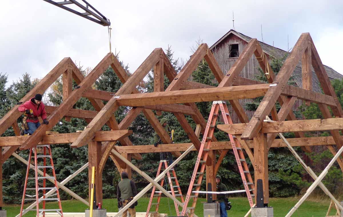 timber frame homes image gallery timberbuilt
