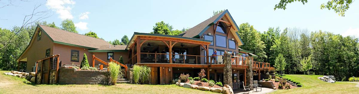 Timber Frame Home Designs | Timberbuilt | The Olive