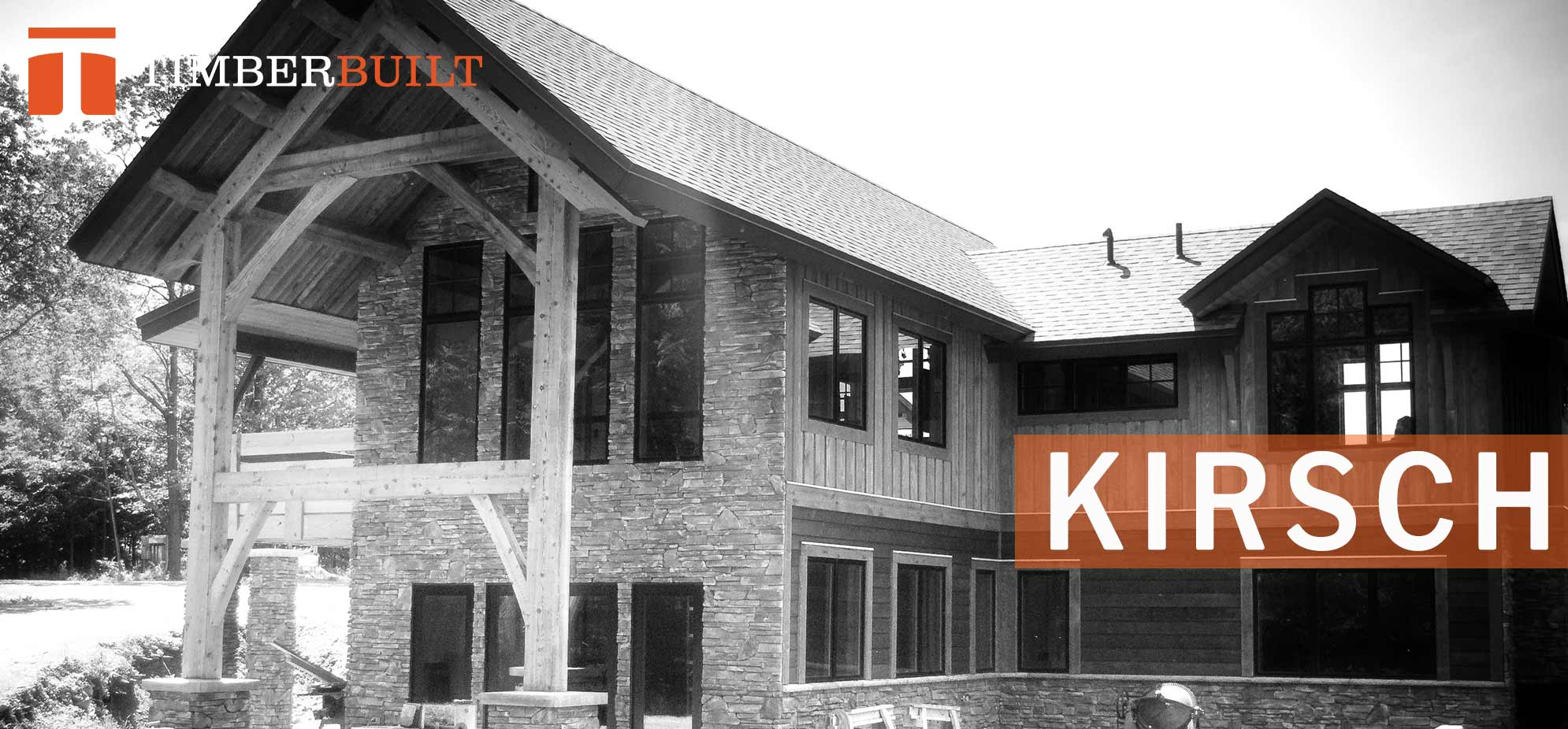 timber frame home design. Our Kirsch timber frame design featuring a large over hanging roof and  outdoor space Timber Frame Home Designs Timberbuilt