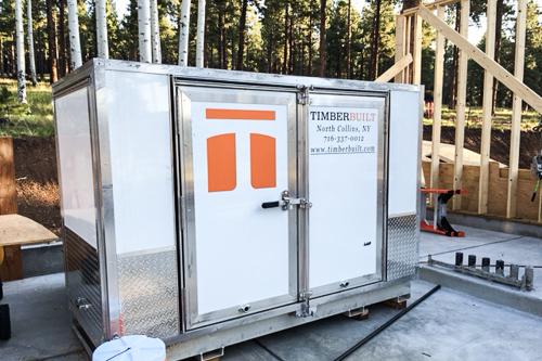 timberbuilt's mobile tool trailer