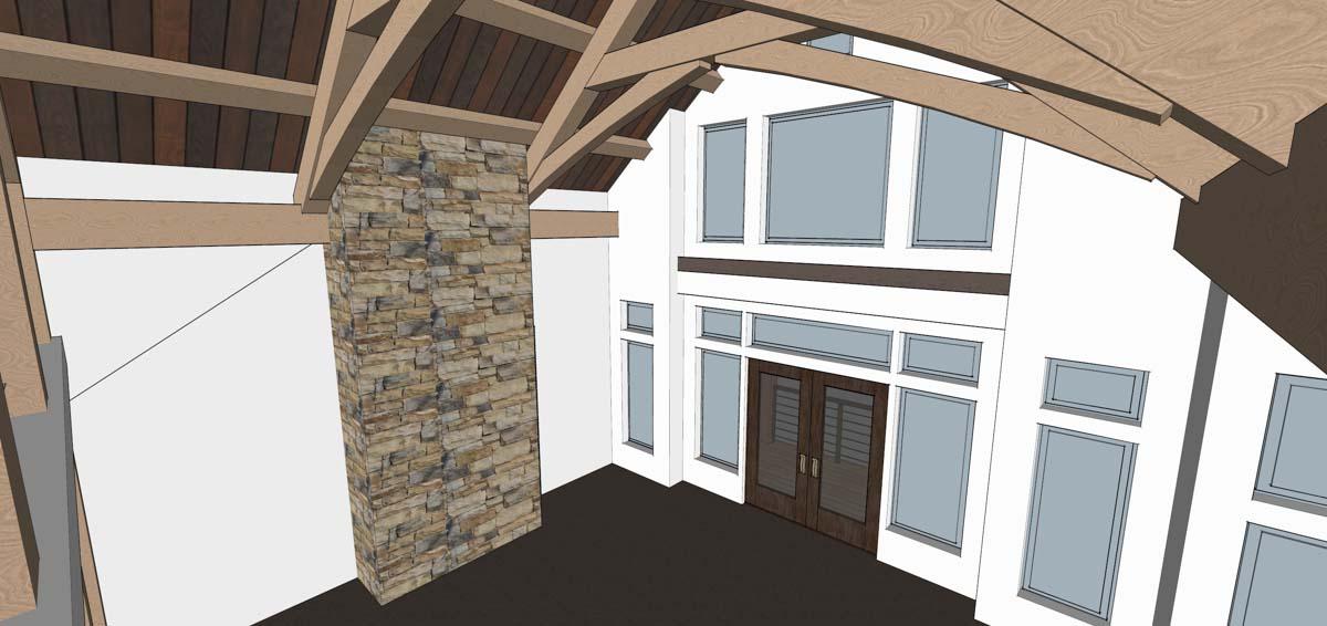 Comfortable Timber Home Design Contemporary - Home Decorating Ideas ...
