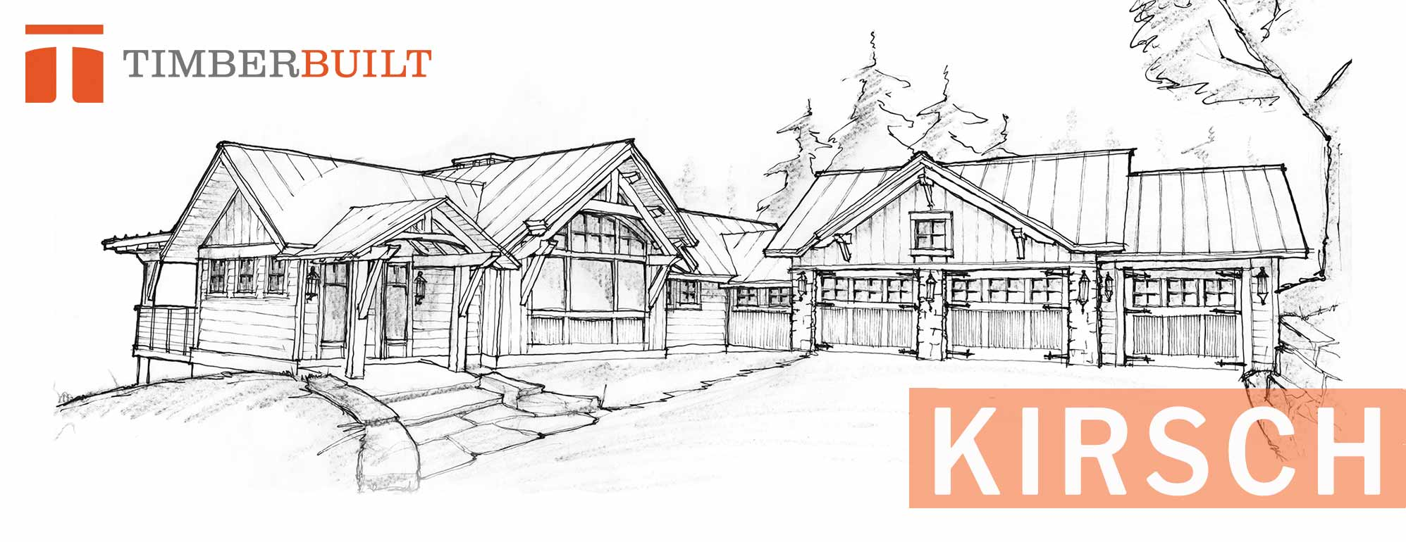 Timber frame home designs kirsch timberbuilt for Timber frame house plans designs