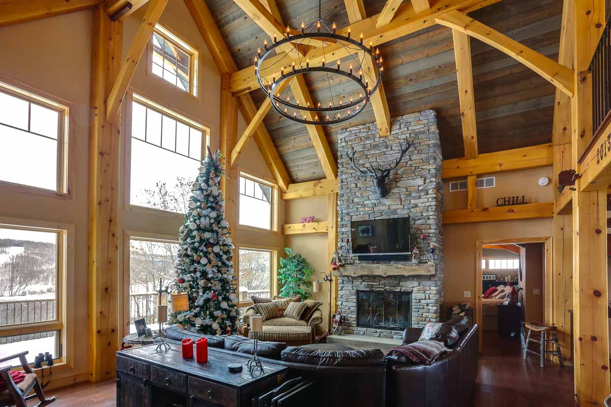 The Olive | Timber Frame Home Designs | Timberbuilt