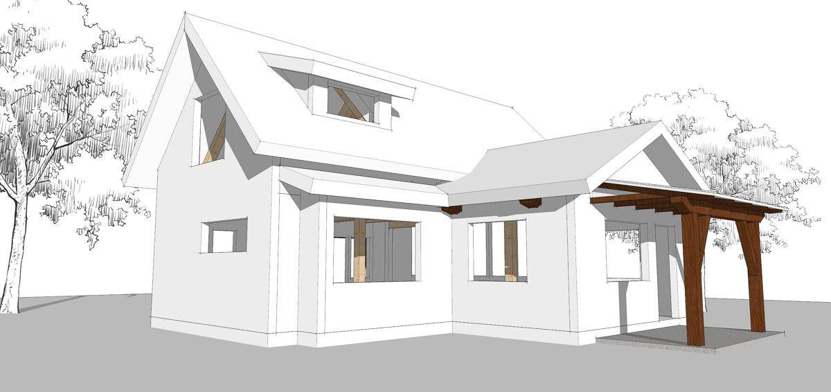 Timber Frame Home Designs | Micro | Timberbuilt