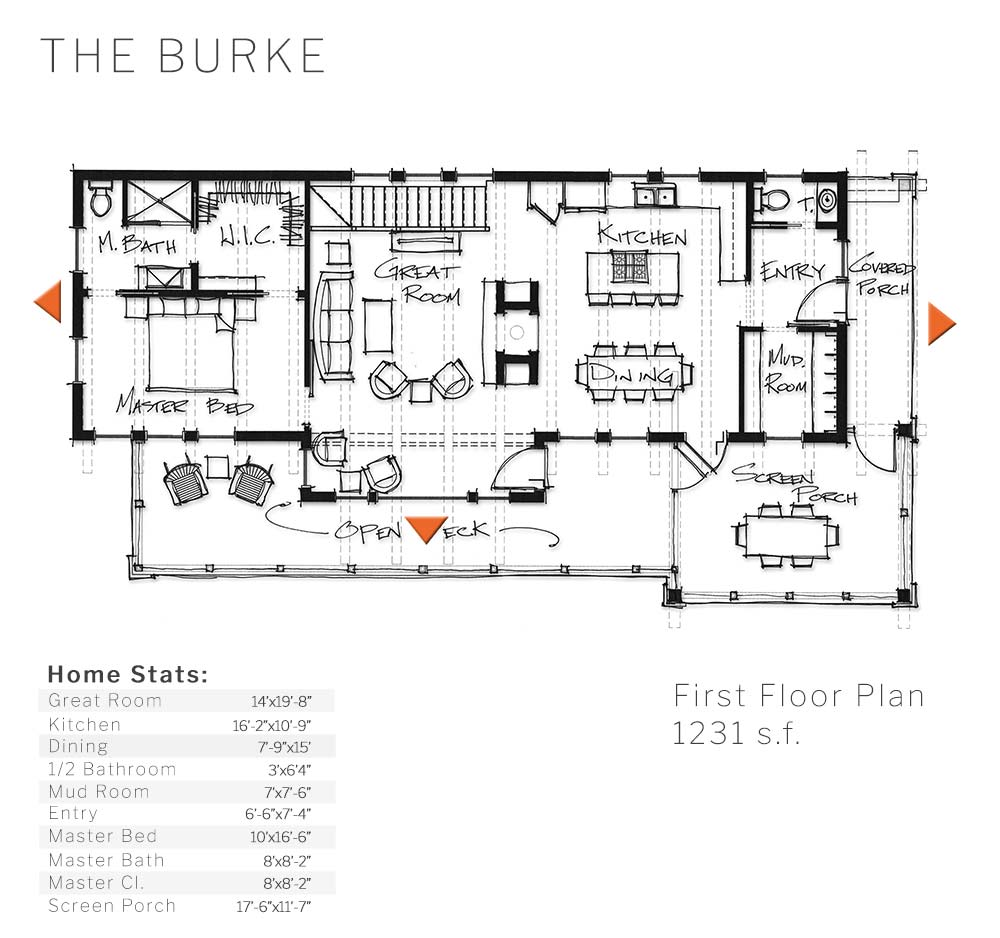 The Burke Timber Frame Home Designs Timberbuilt,Simple Victorian House Floor Plans