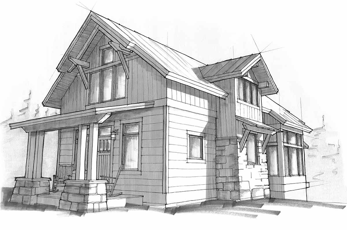 Timber Frame Home Designs | Lake Cottage | Timberbuilt