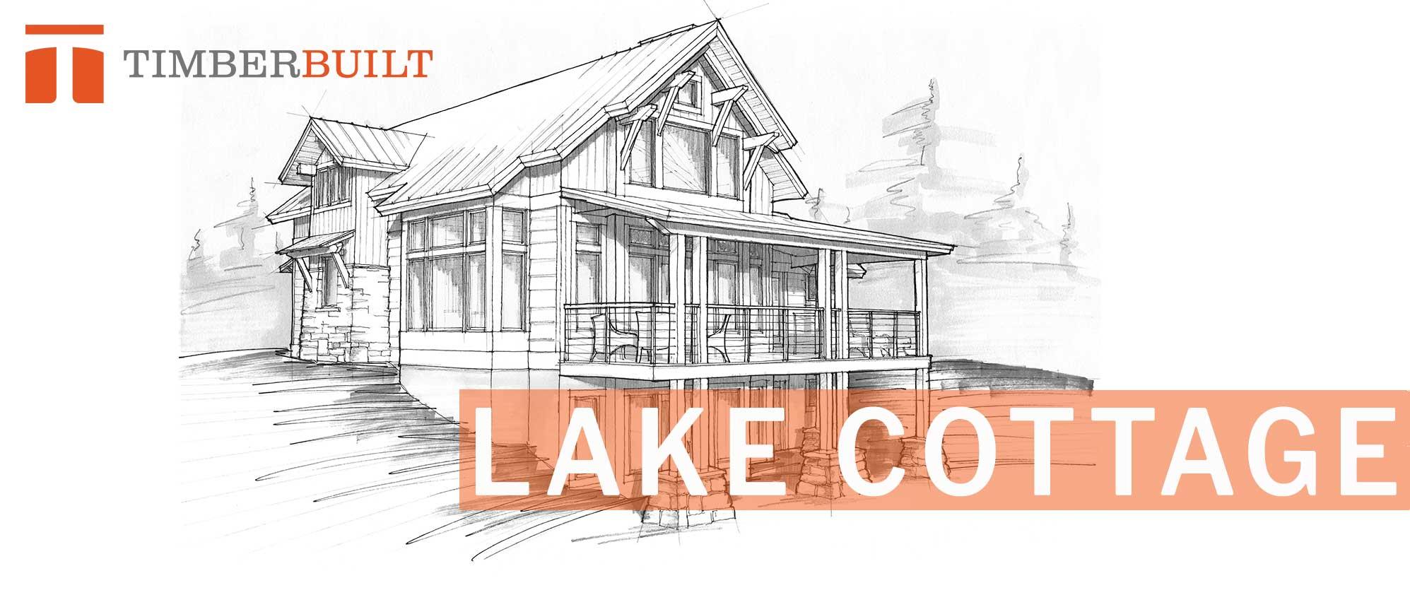 Lake Cottage | Timber Frame Home Designs | Timberbuilt