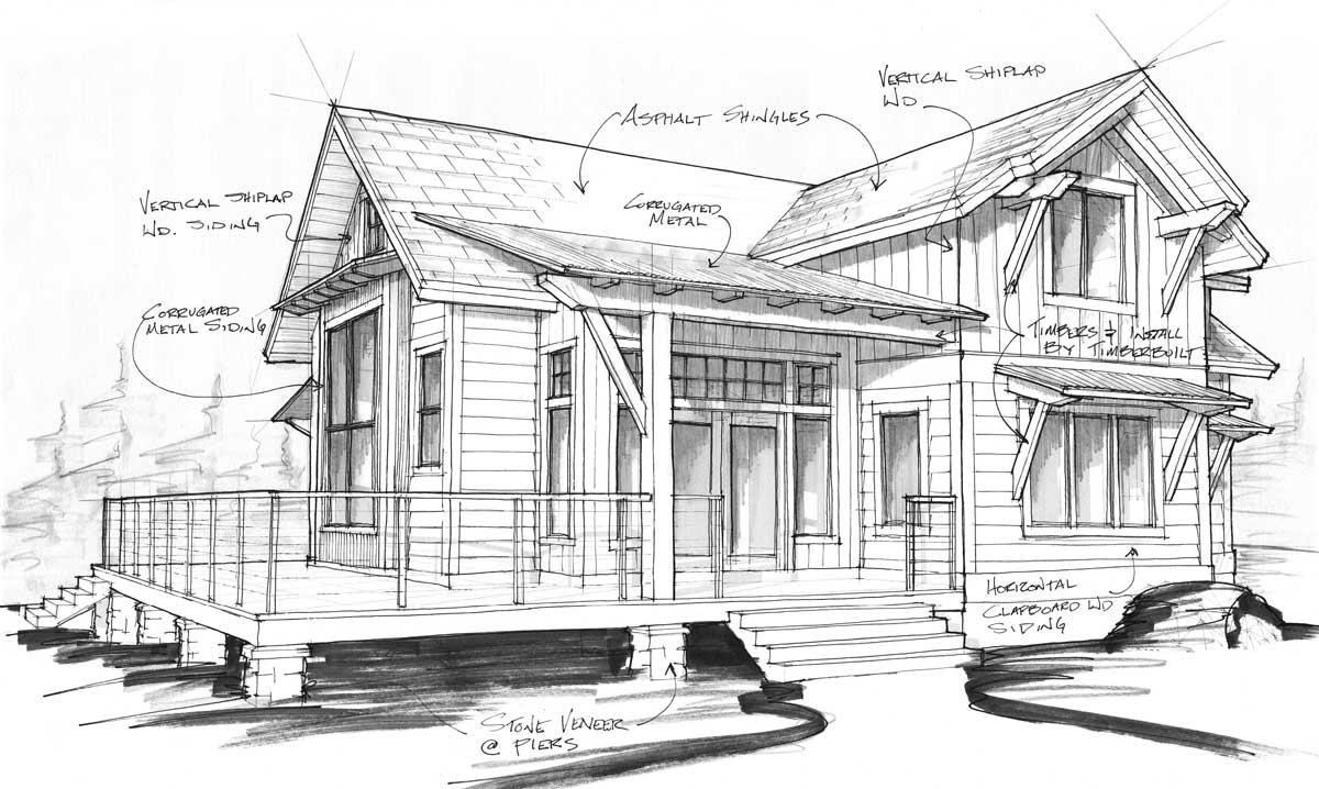 Cabin | Timber Frame Home Designs | Timberbuilt