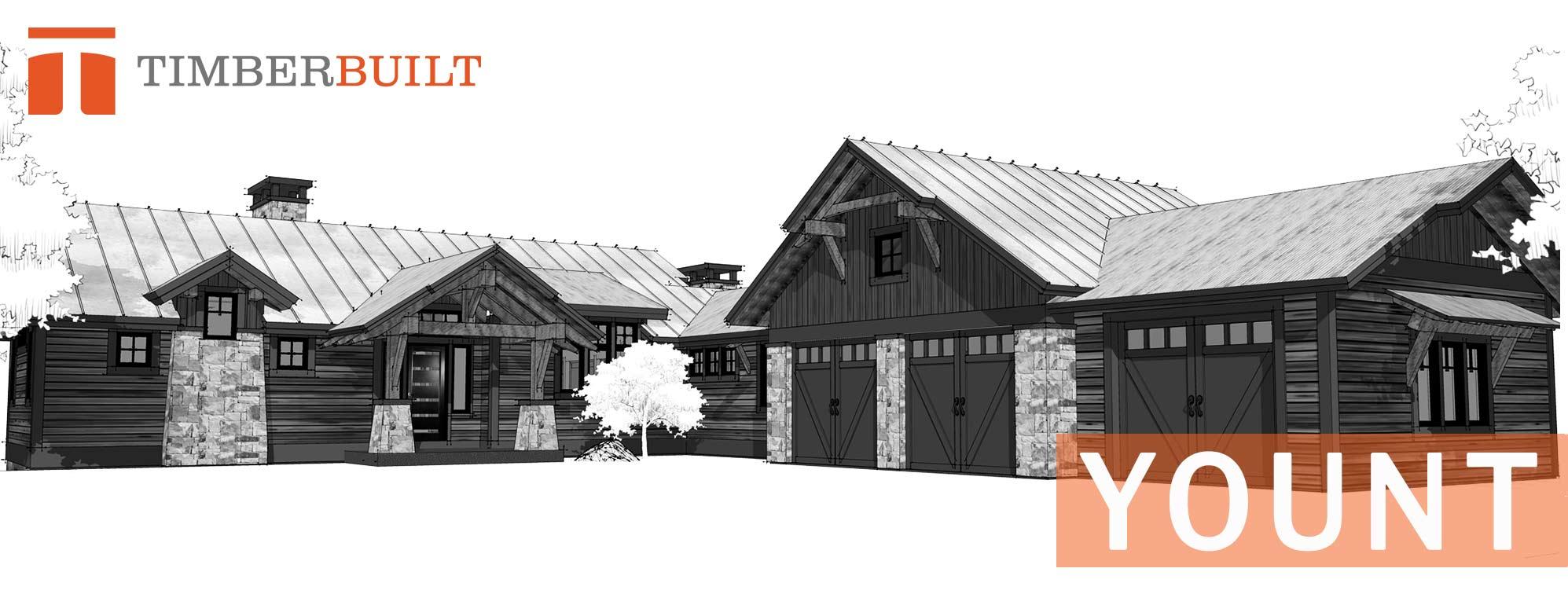 Yount | Timber Frame Home Designs | Timberbuilt