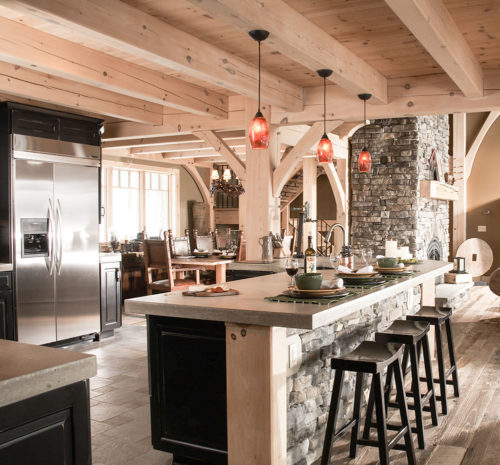 Timber Frame Kitchens Image Gallery Timberbuilt
