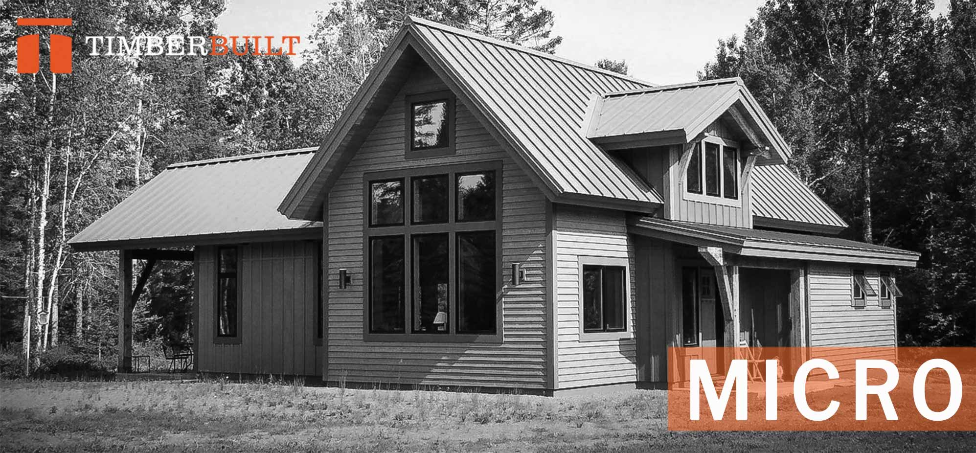 Micro | Timber Frame Home Designs | Timberbuilt
