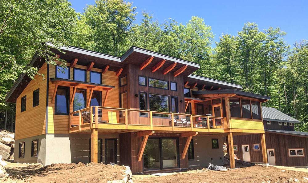 The Burke Timber Frame Home Designs Timberbuilt