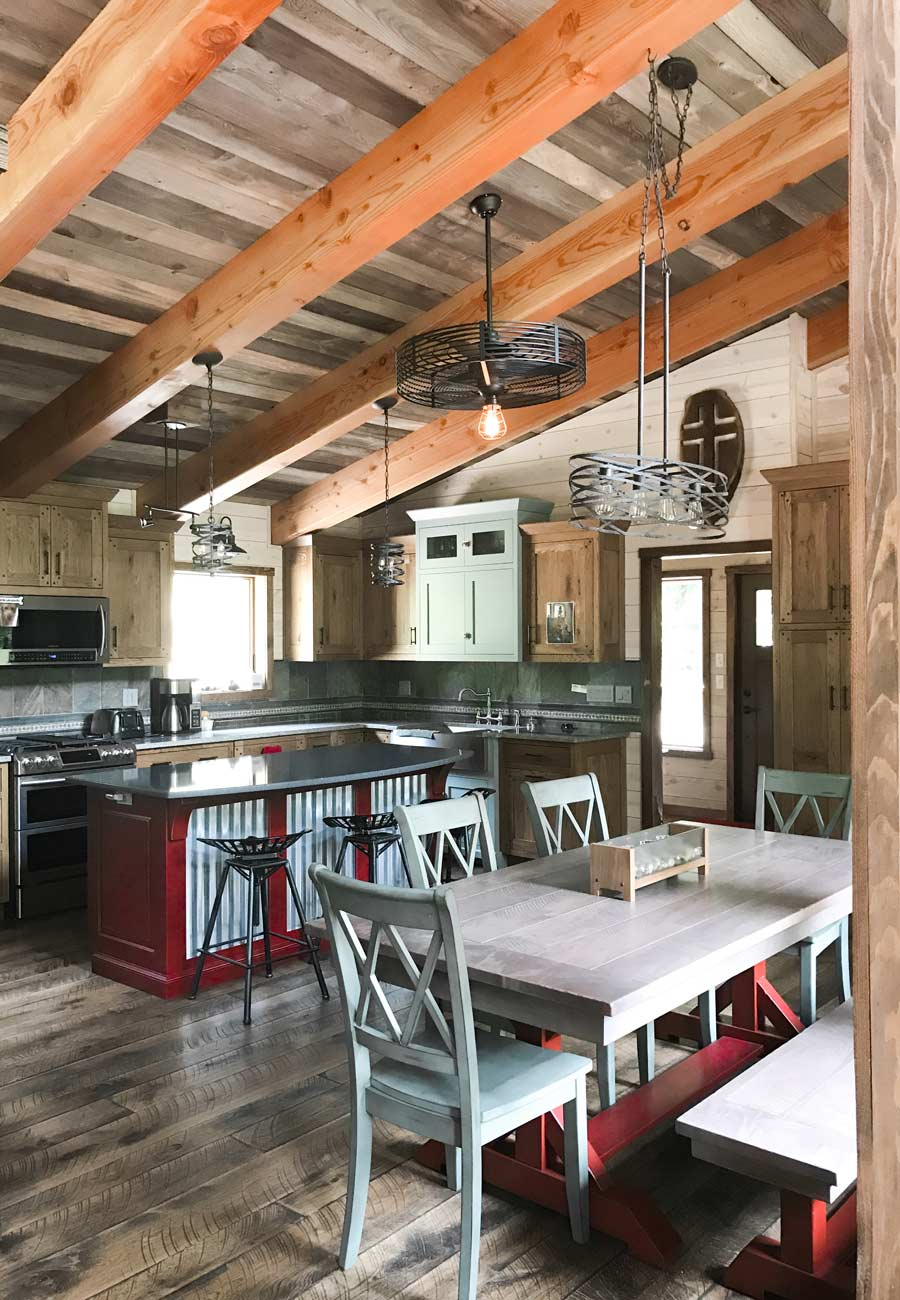 The Burke Timber Frame Home Designs Timberbuilt