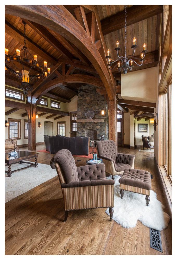 Paradise Valley Montana Livingston Timberbuilt