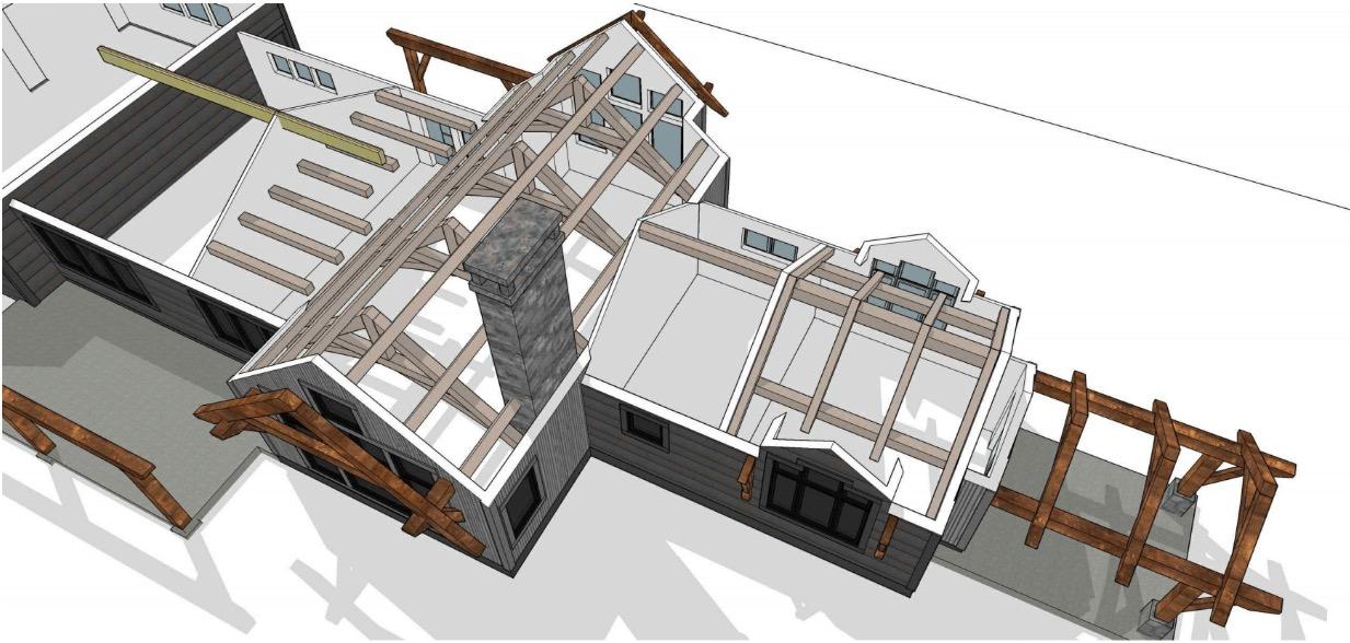 Culver, Oregon | Kirsch | Timber Frame Homes | Timberbuilt