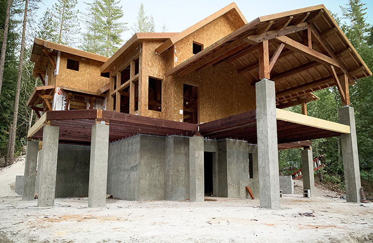 Berry Creek California Cabin Timber Frame Homes
